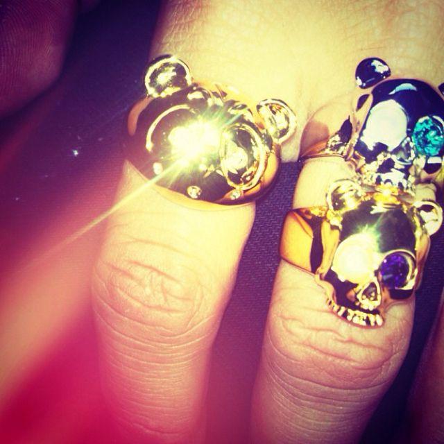 Nicholas Formicetti, panda rings.