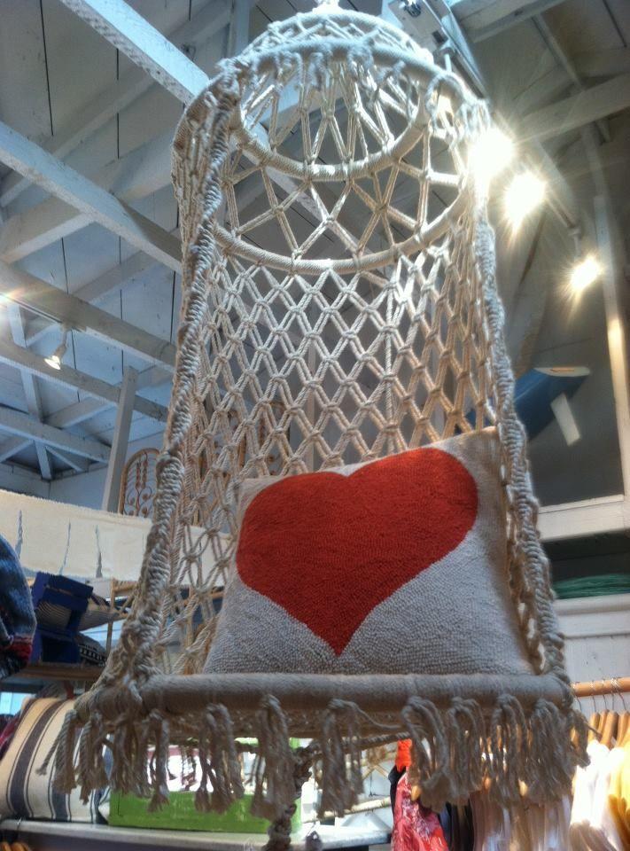 Chrochet · Macrame Hanging Chair