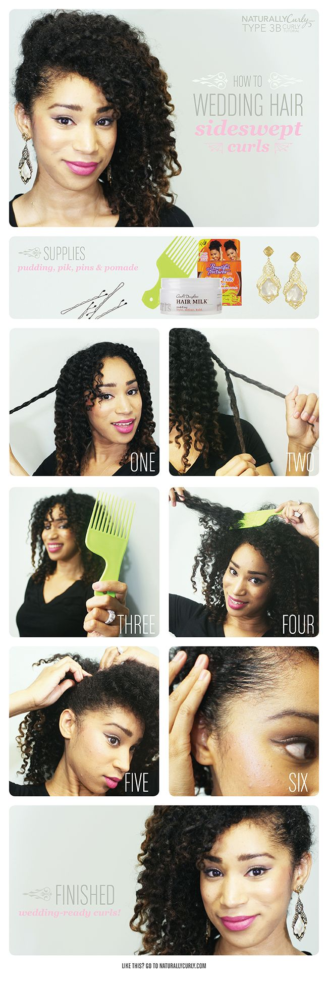 Amazing 1000 Images About Cabelos Curtos Cacheados On Pinterest Short Hairstyles Gunalazisus