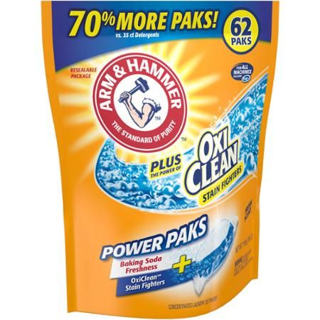 Arm Hammer Laundry Paks 62 Ct Only 3 77 Reg 8 00 At Target