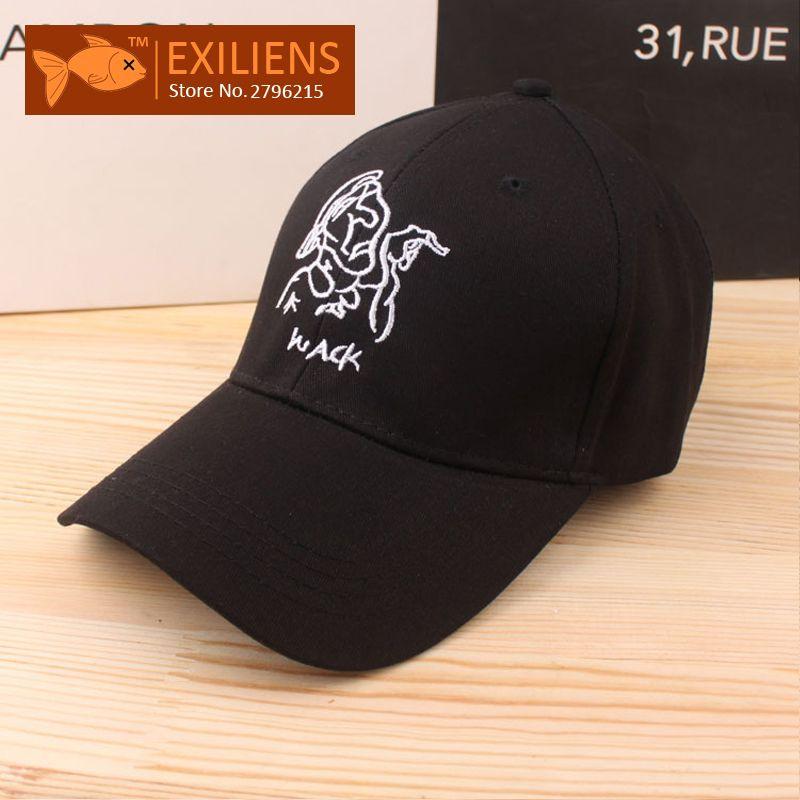 fd2fceb1704  EXILIENS  2017 Fashion Brand Baseball Cap Cotton Old woman Snapback Caps  Strapback Bboy Hip