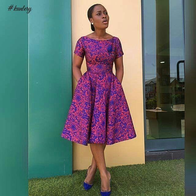 edd5c3436518d9 SHORT ANKARA MAXI DRESS PERFECT FOR THE WEEKEND in 2019 | Nigerian ...