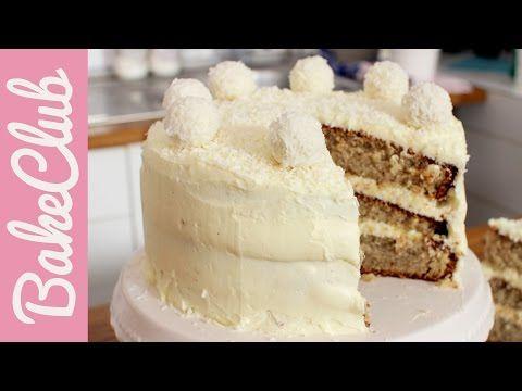 Raffaello Torte | BakeClub - YouTube