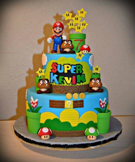 Mario Bros Cake With Images Mario Bros Cake Super Mario Cake