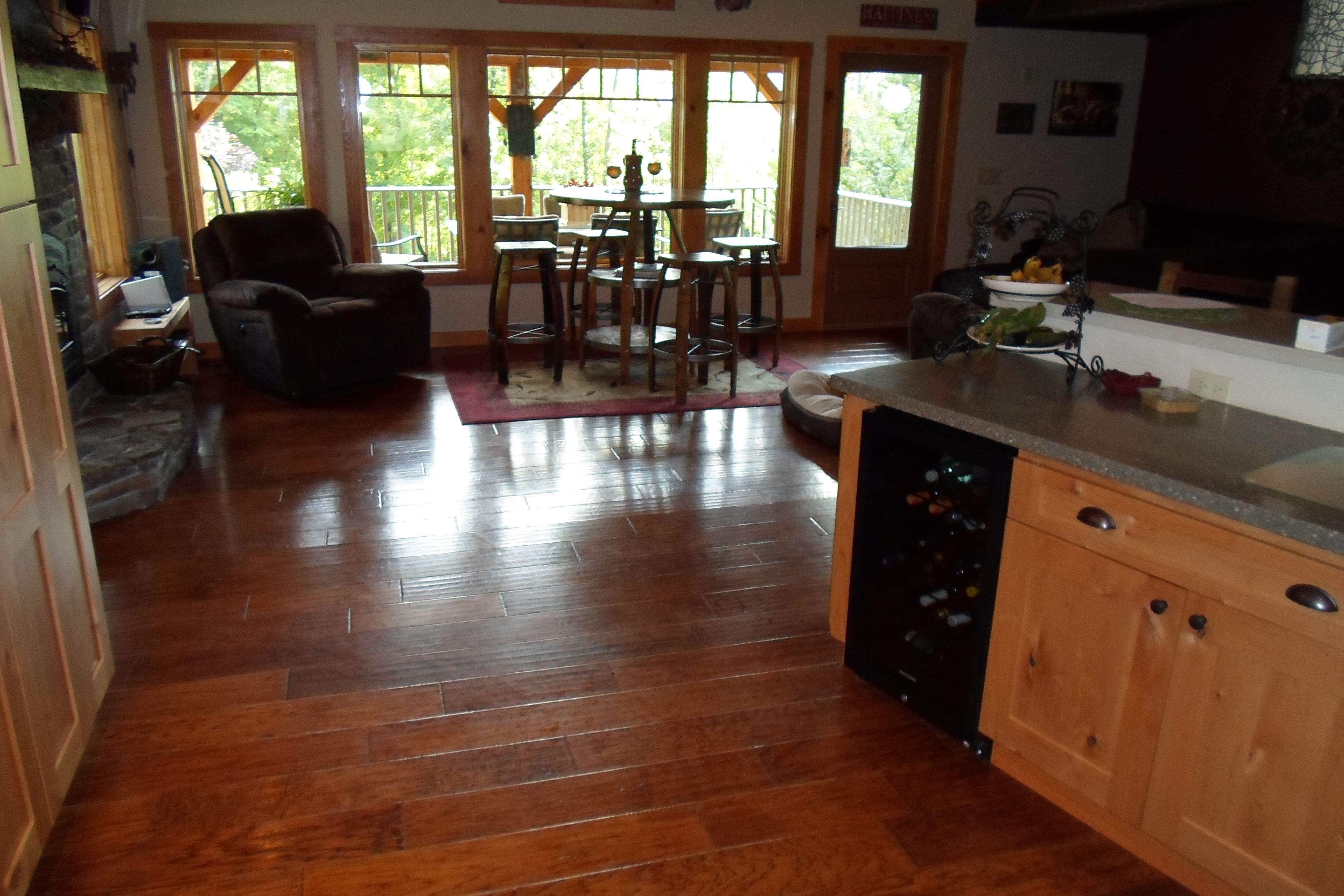 Hallmark hardwood collection chaparral hickory color tack room carpet tile hardwood laminate vinyl area rugs installation sales and service dailygadgetfo Image collections