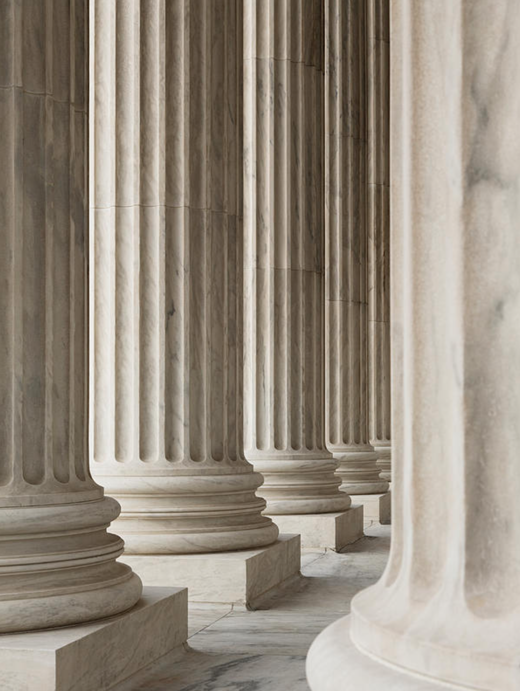 The Design Of The Supreme Court Building In New York City Achieved A Balance Between Classical Grand Neoclassical Columns Architecture Poster Corinthian Column