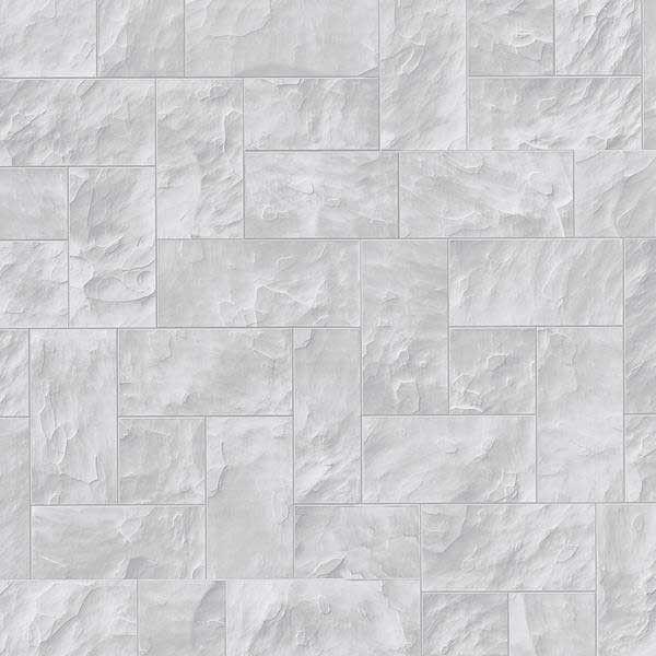 Papel pintado imitaci n piedra cortada gris claro - Papel pintado imitacion piedra ...