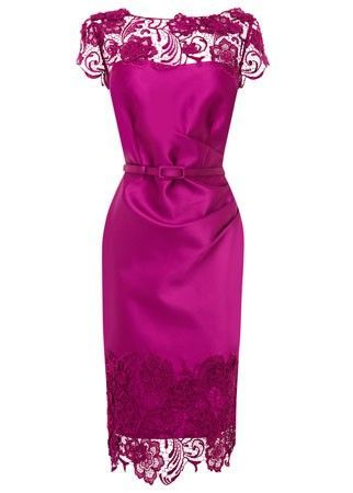 Elegant Coast Satin And Lace Dress Wedding Guest Dresses