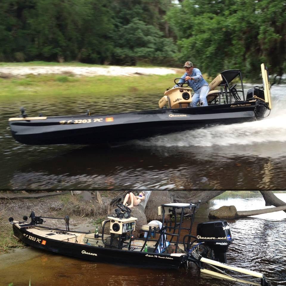 Custom gheenoe modifications by james oswald it 39 s a for Custom fishing boats