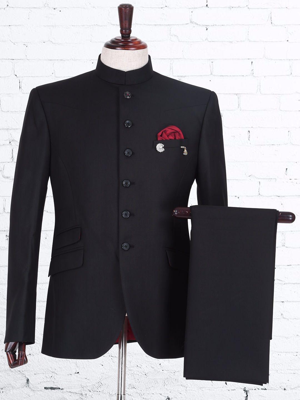 Soli Black Terry Rayon Jodhpuri Suit Jodhpur Mens Pinterest