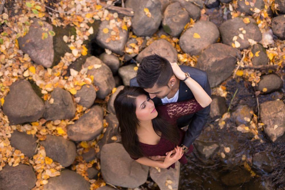 Fall Engagement Session Neha Gaurav Fall Engagement Engagement Session Engagement Photoshoot
