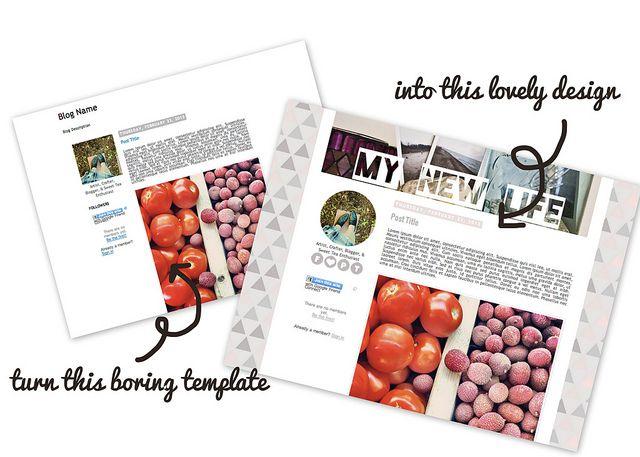 Make it Monday // DIY Blog Design   Blog design