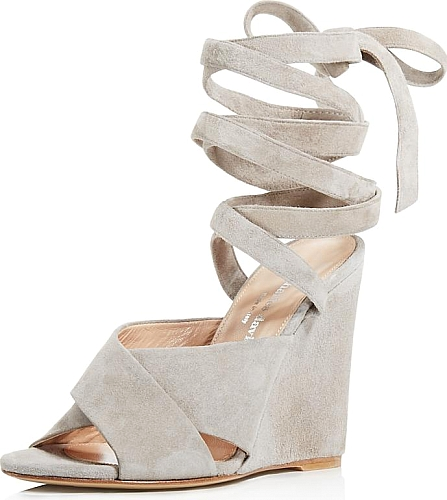 f55edc8710f Charles David Women s Shoes in Gray Color. With shin-skimming laces and  covered wedge heels