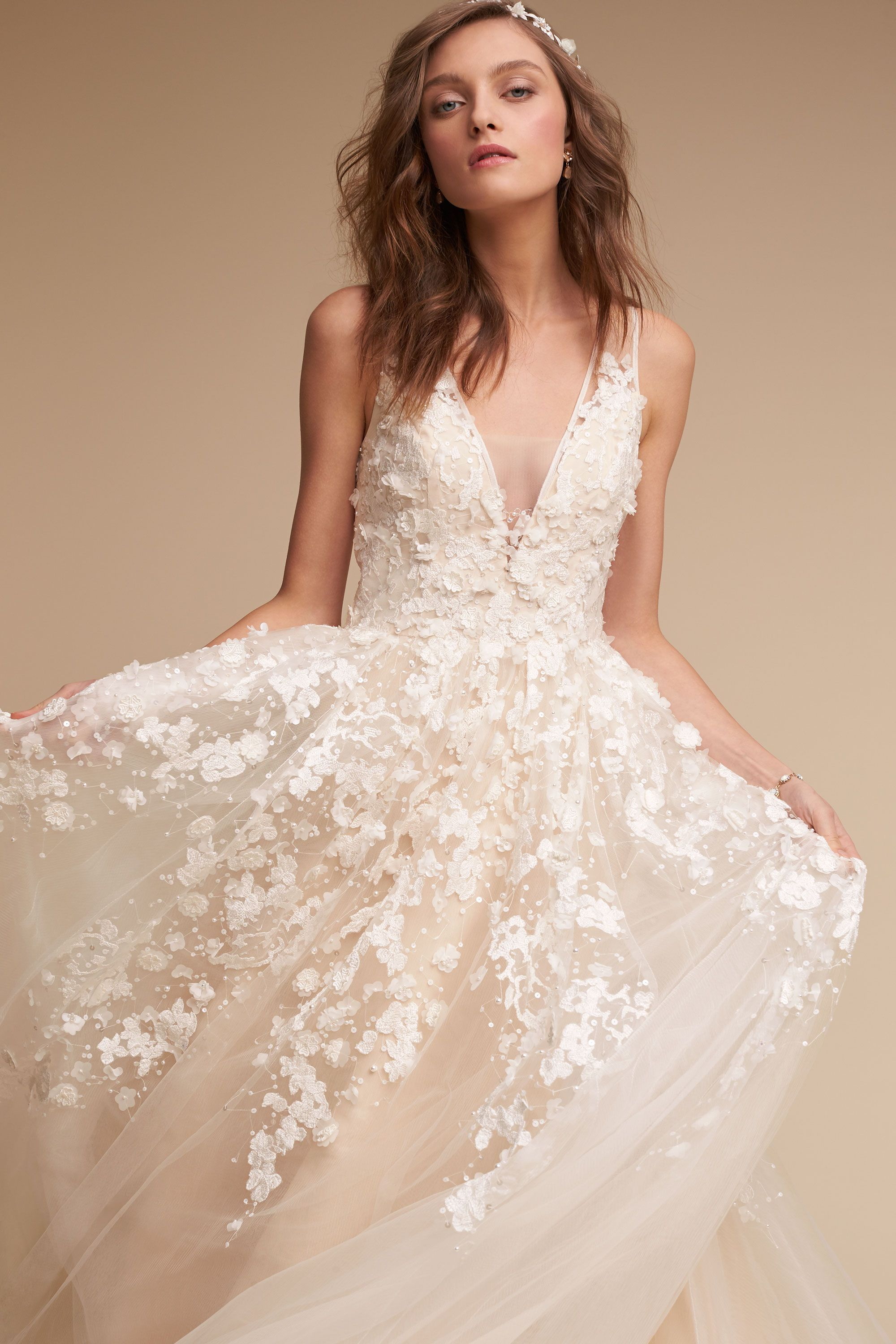 Casual wedding dress with sleeves  Pin by Christie Gard on one day  Pinterest  Gowns Wedding dress