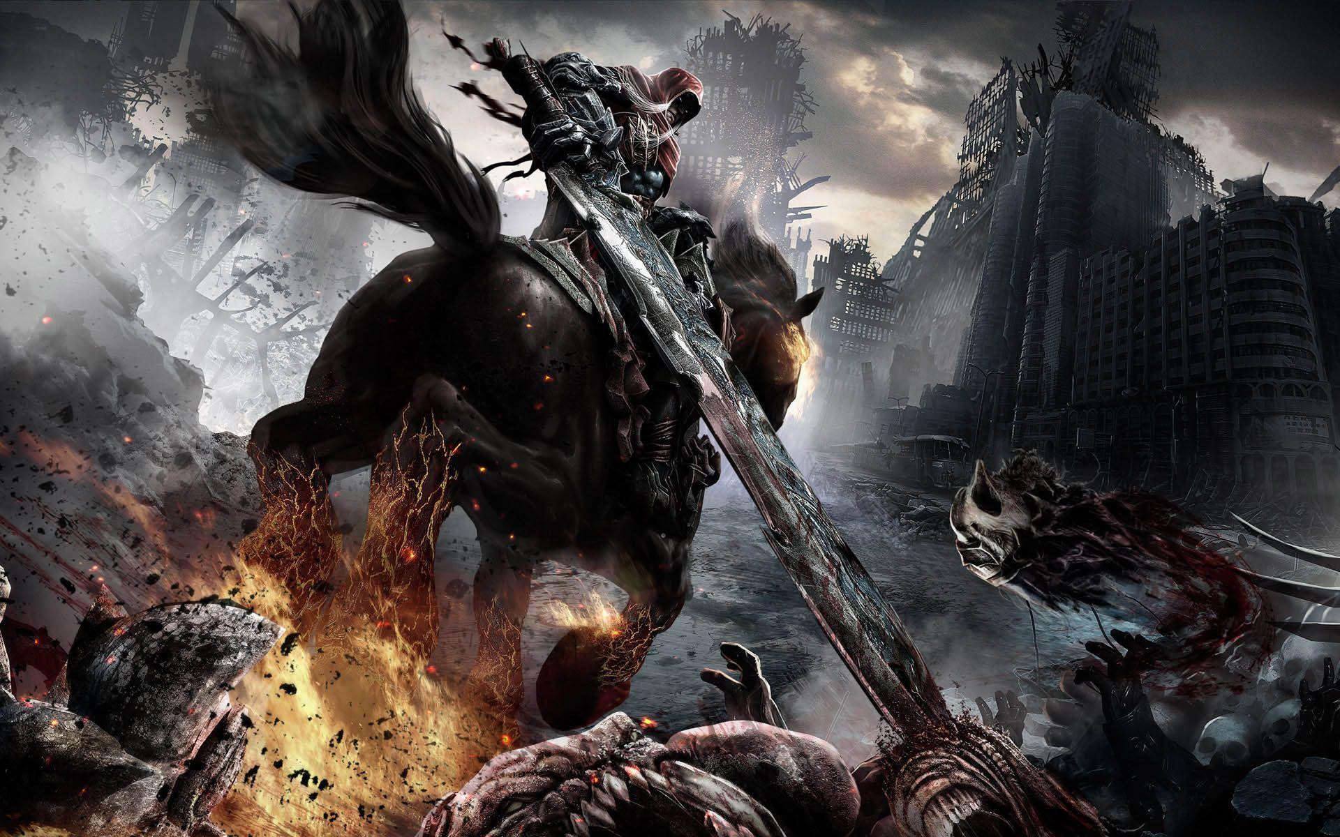 Final Fantasy Xv Dark Knight Game Wallpaper Download Wallpaper
