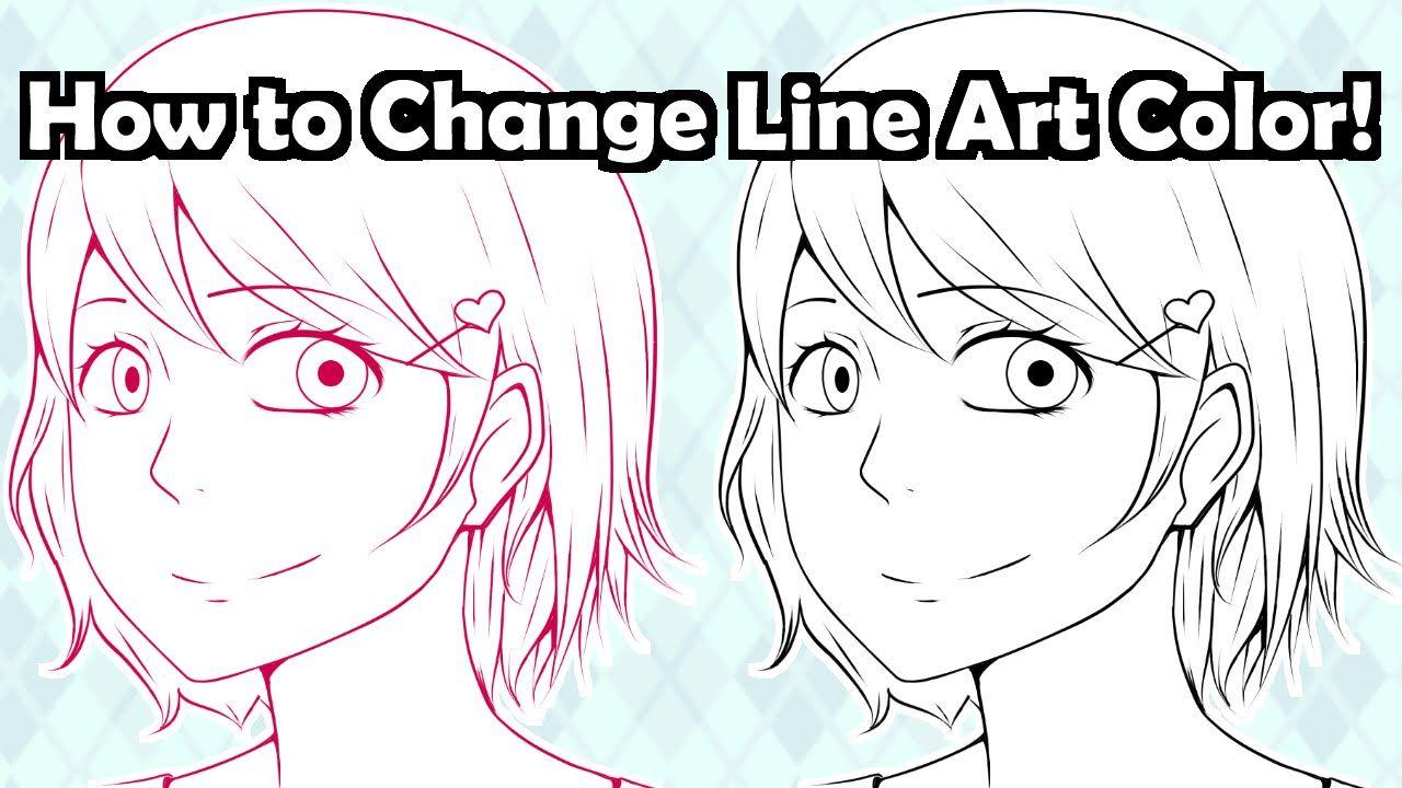 How To Color Line Art In Manga Studio 5 Clip Studio Paint Clip Studio Paint Clip Studio Paint Tutorial Line Art