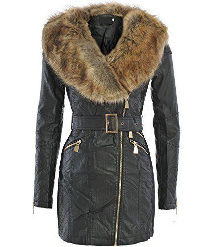 Veste faux cuir femme montreal