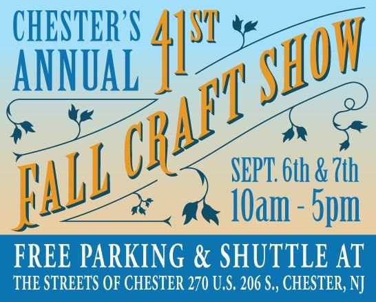 41st Annual FALL Craft Show