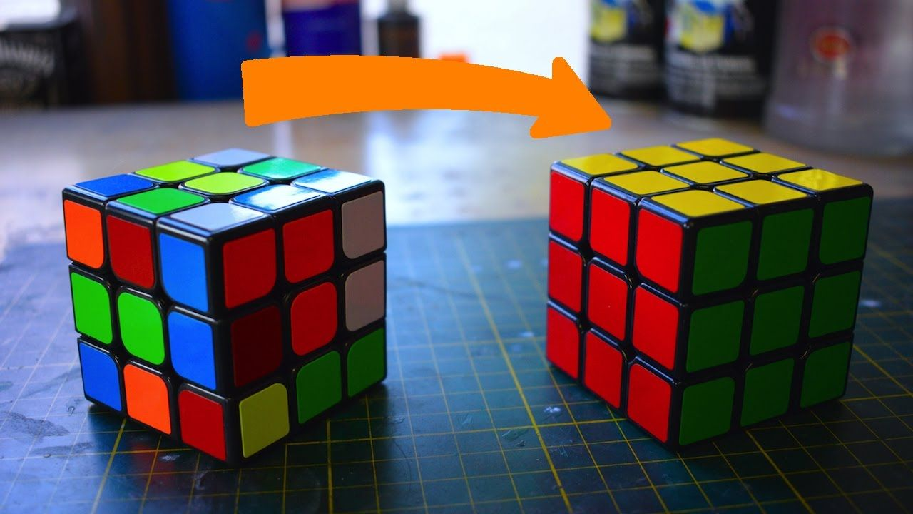 memorize this simple algorithm and you can solve the rubik s every time it s scrambled  [ 1280 x 720 Pixel ]