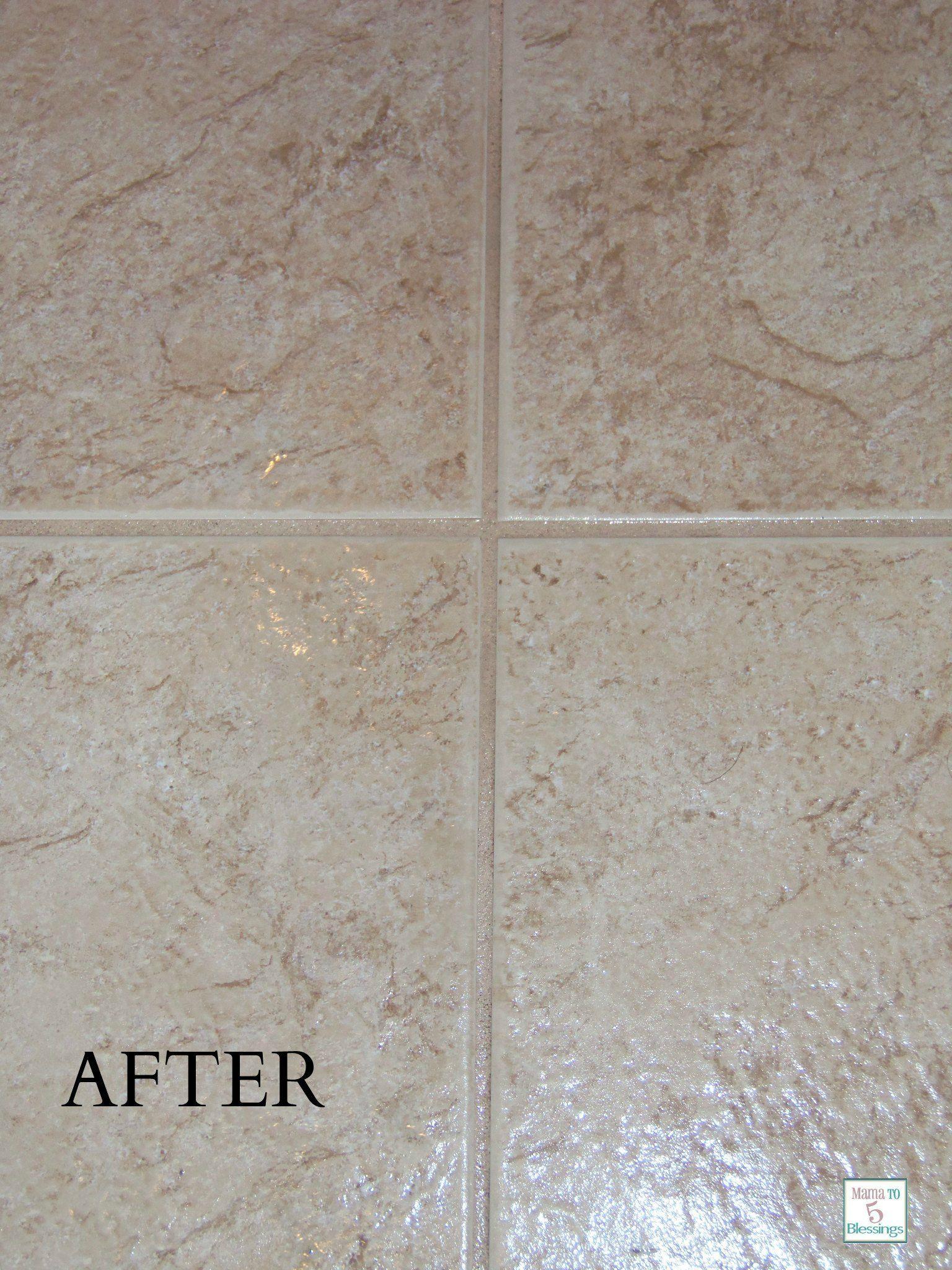 natural tile grout cleaner