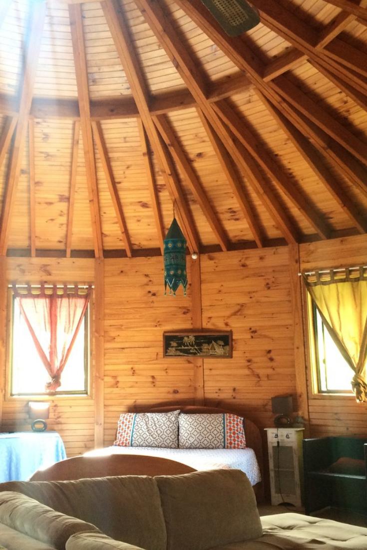 FourPerson Yurt Rental on an Organic Farm near Byron Bay