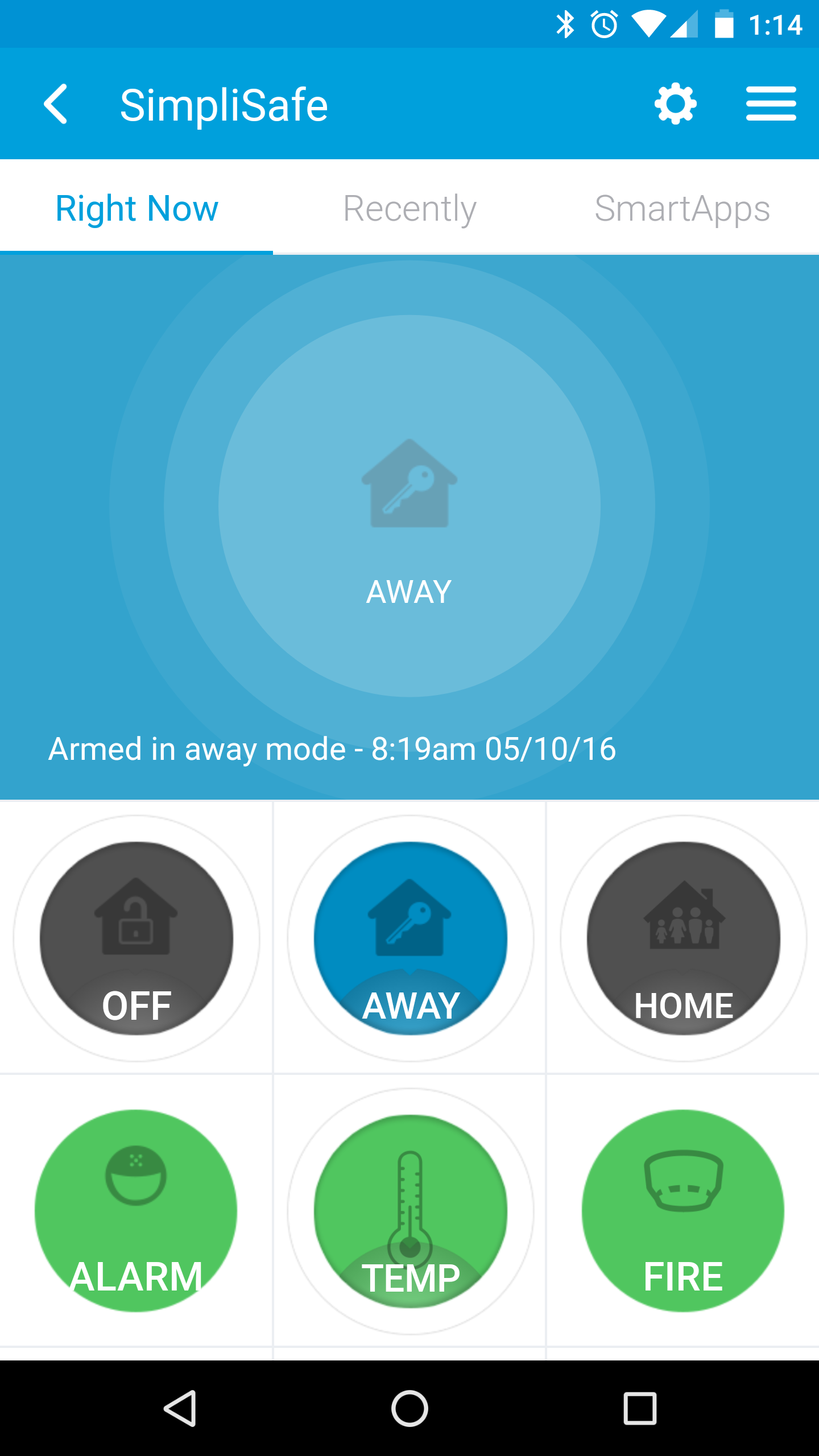 I Took The Original And Great Code By Fgorodishter And Made A Couple Of Enhancements You Can Now Pull The Status Of Simplisafe Clouds Projects Smartthings