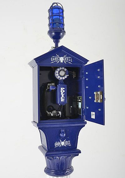 Decorative Objects Solvang Antiques Police Call Antique Phone Antique Telephone