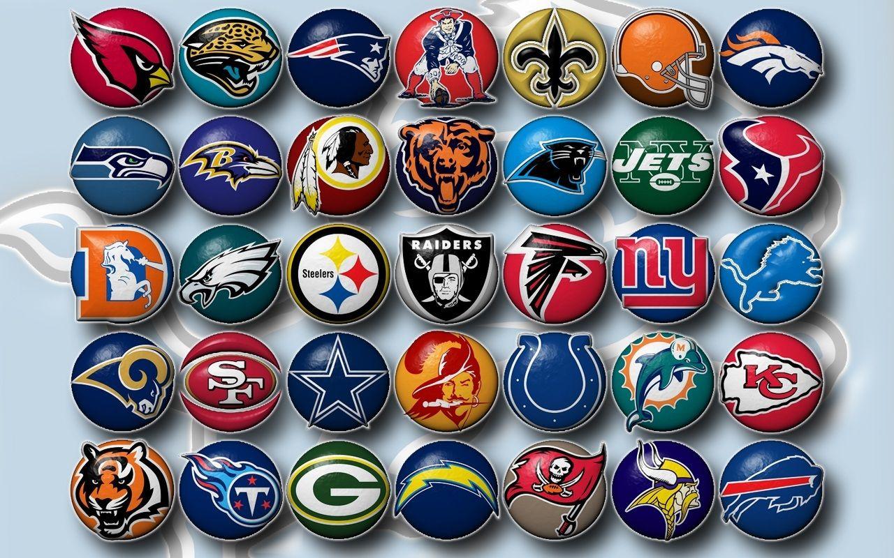Nfl Football Team Logos Clip Art Football Teams Fans
