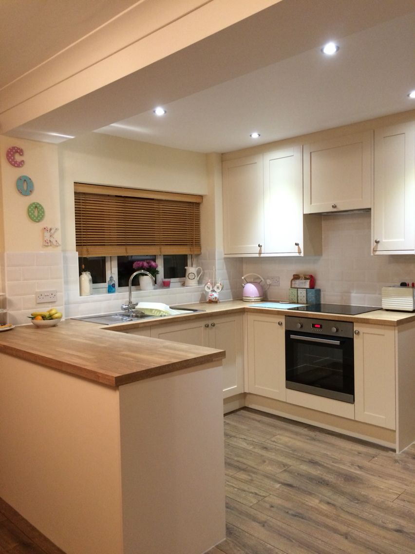 Our Finished Cream Shaker Kitchen Kitchen Design Small Small