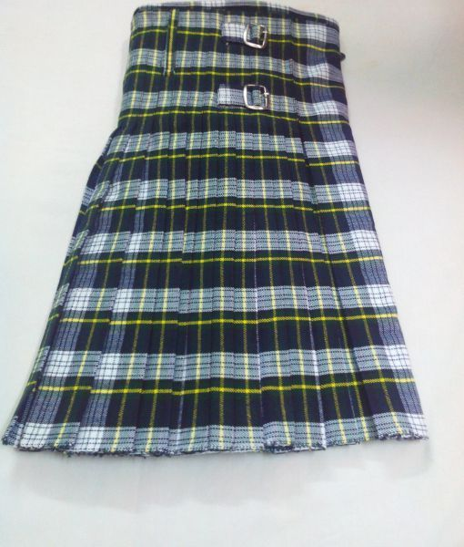 USA Kilts Gordon Modern Tartan Wool Scarf Made in Scotland