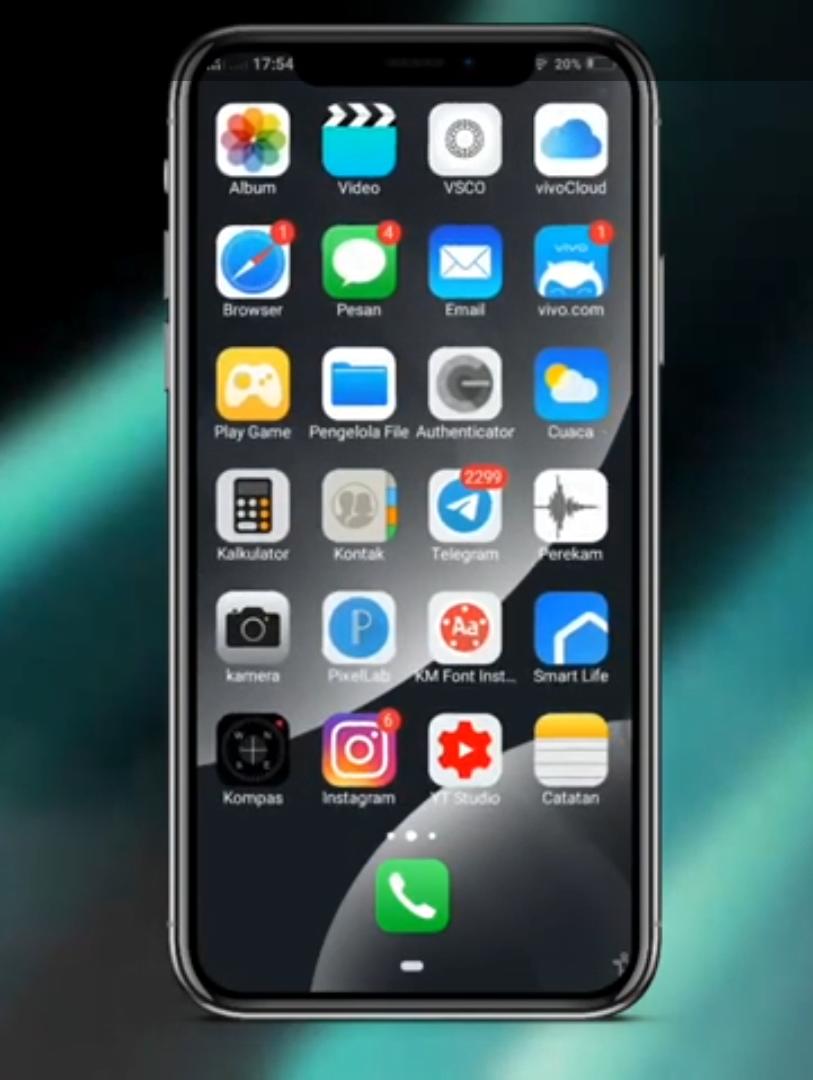Cara Mengubah Tampilan Vivo Menjadi Iphone 11 Vivo Themes Itz Aplikasi Ios Iphone Aplikasi