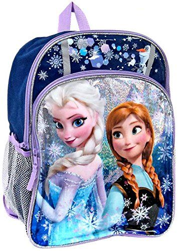 fc7c63916ce Disney Frozen Anna Elsa Sparkle 16 Backpack    This is an Amazon Affiliate  link.