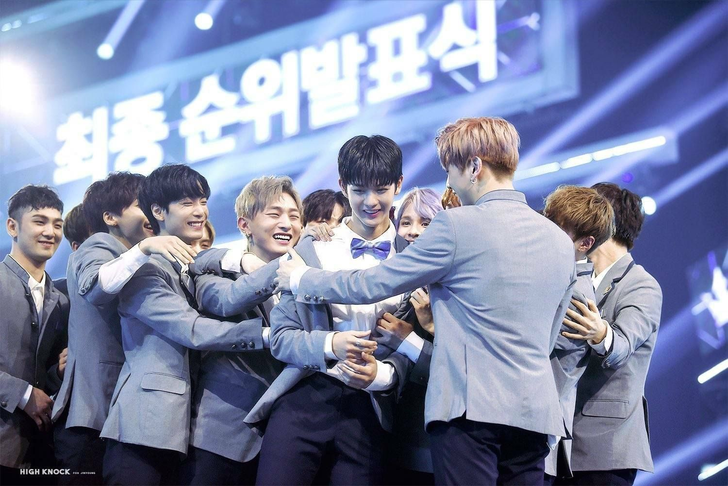 broduce101 final I'm crying TT