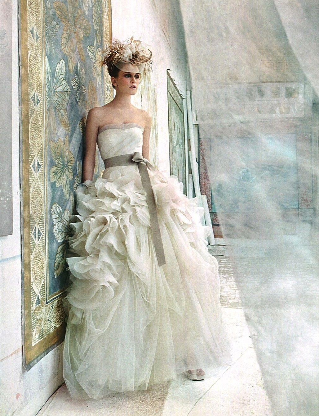 Perfect Vera Wang Hayley Size Wedding Dress