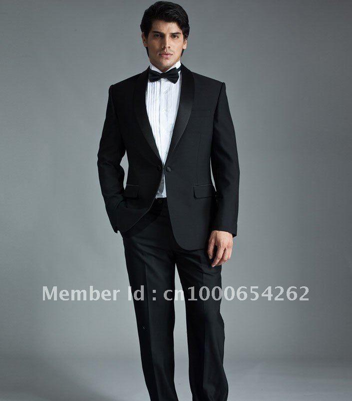 Whole Groom Tuxedos Best Men Suit Wedding Groomsman Bridegroom Suits Jacket Pants