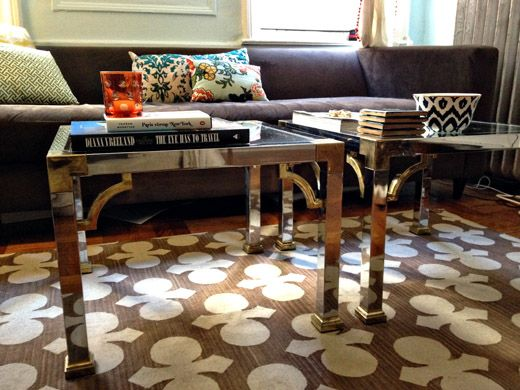 Love The Tables And Rug So Much Fun