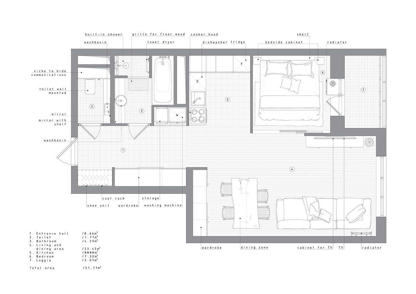S Hance Gallery Apartment In