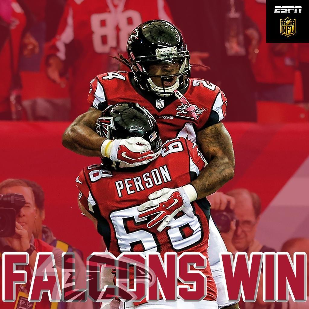 Nfl On Espn On Twitter Atlanta Falcons Football Devonta Freeman Falcons Fan