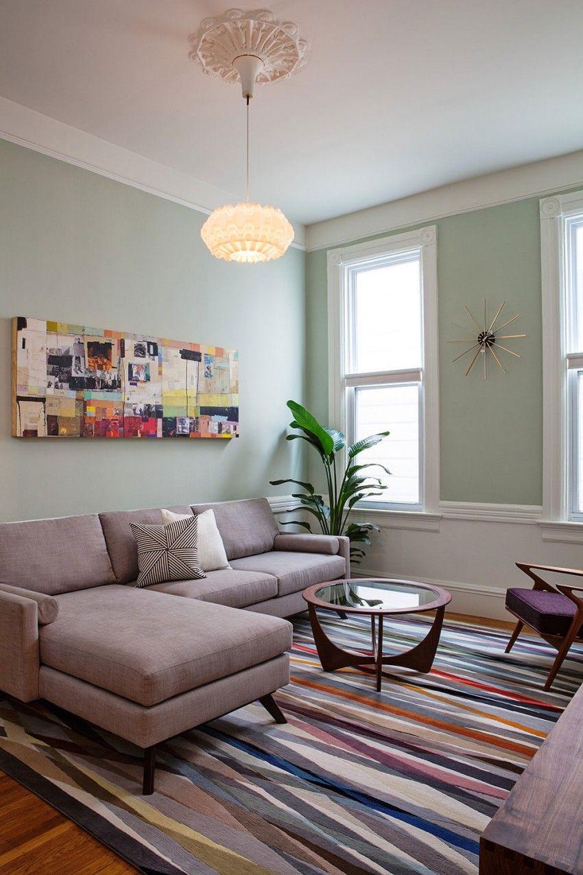 Capp street by svk interior design 2 architecture - Wohnzimmer pflanze groay ...