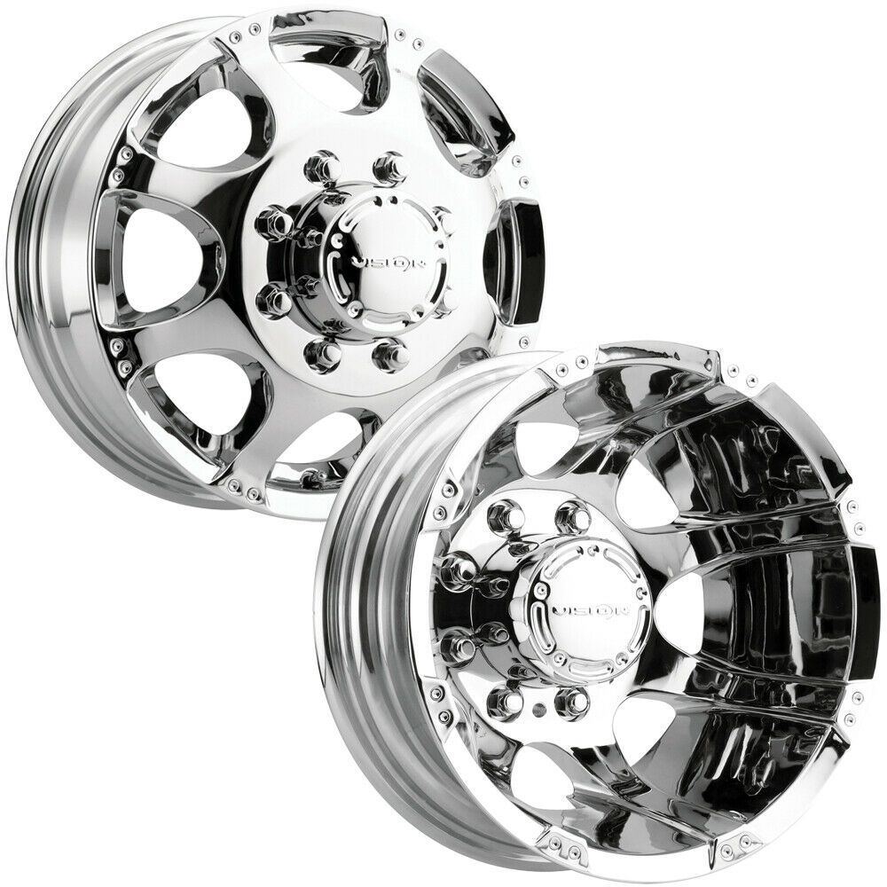 8x170 Dually Wheels In 2020 Dually Wheels Wheel Rims Chrome Rims