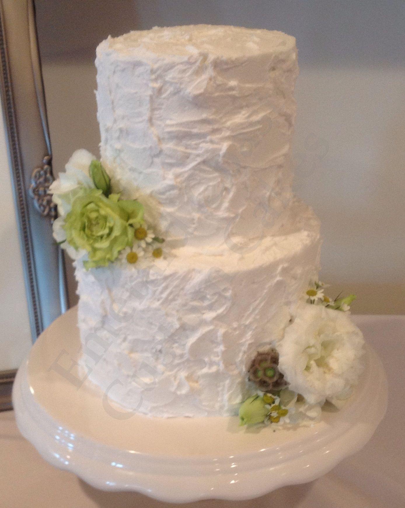 Rustic Wedding Cake By Heather Lester Pelham Of Emerald Coast Custom Cakes Destin Fl