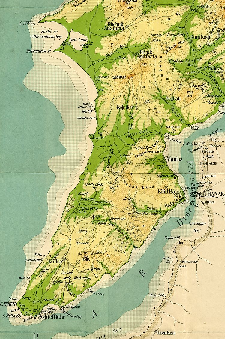 A War Map Of The Gallipoli Peninsula 1915 one of worst ... Gallipoli Map on battle of verdun map, tannenberg map, benevento map, bosporus map, aegean sea map, troy map, ypres map, greece map, palestine map, western front map, dardanelles map, australia map, florence map, balkan peninsula map, world map, suvla bay map, messina map, hundred days offensive map, italian front map, antalya map,
