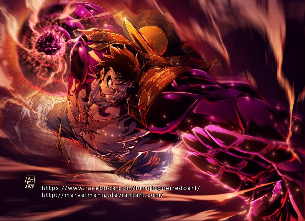 Monkey D Dragon The Revolutionary Leader And The World Government S Greatest Enemy In One Piece Monkey D Luffy S Luffy Gear4 One Piece Luffy One Piece Anime