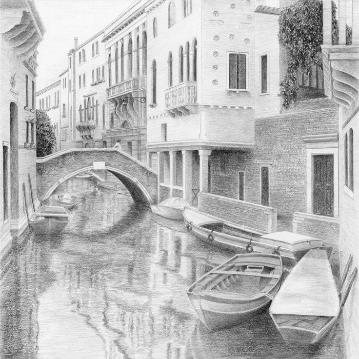острова, картинки венеция рисовать волчицей