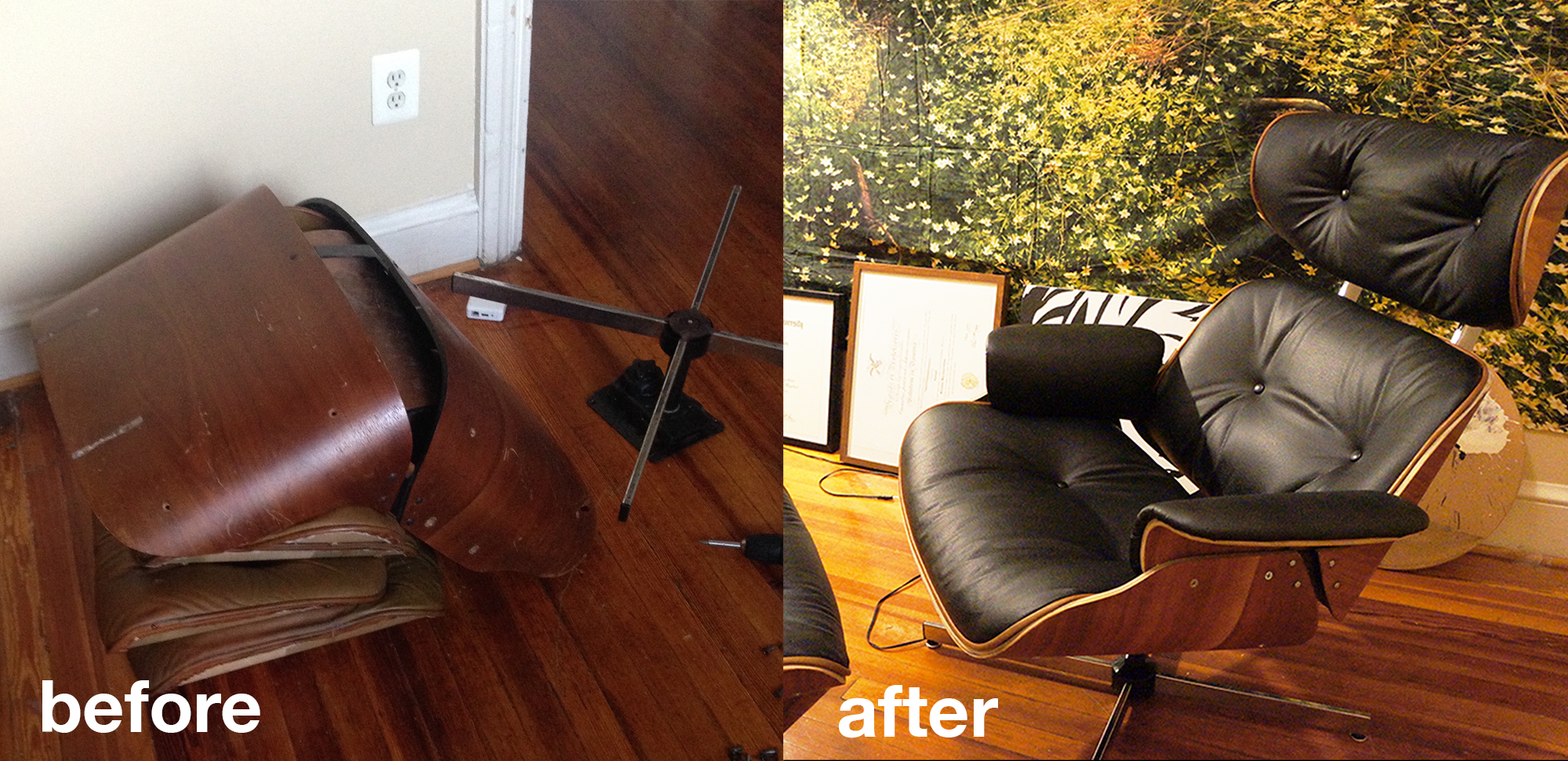 restoring an eames style plycraft chair eames chairs