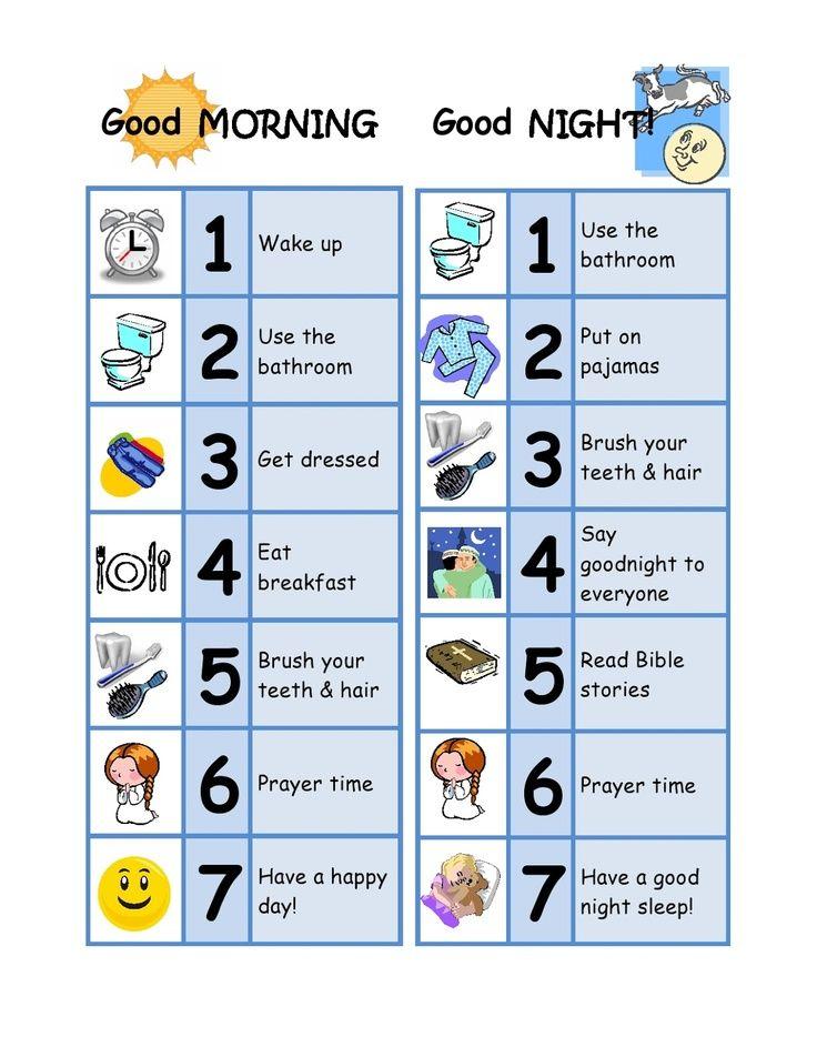 5 yr old schedule chart - Google Search \u2026 summer schedule Toddl\u2026