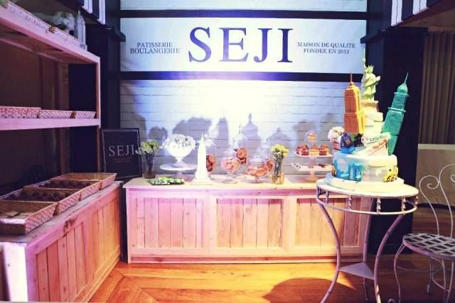 Seji's Little Man in the Big Apple Party: NYC themed dessert spread
