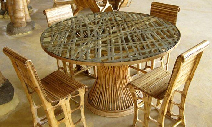 bamboo furniture Design Ideas and Inspirations Pinterest