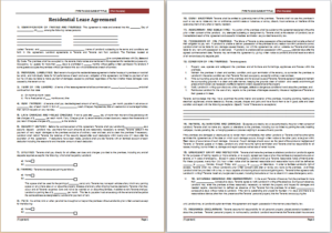 Residential Lease Agreement Download At HttpWwwTemplateinnCom