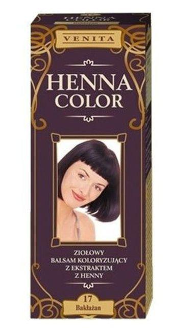Henna color hajfesték 17 padlizsán 75 ml 695 Ft db Hajmosás után kell  feltenni f403a29f41
